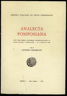 ANALECTA POMPOSIANA
